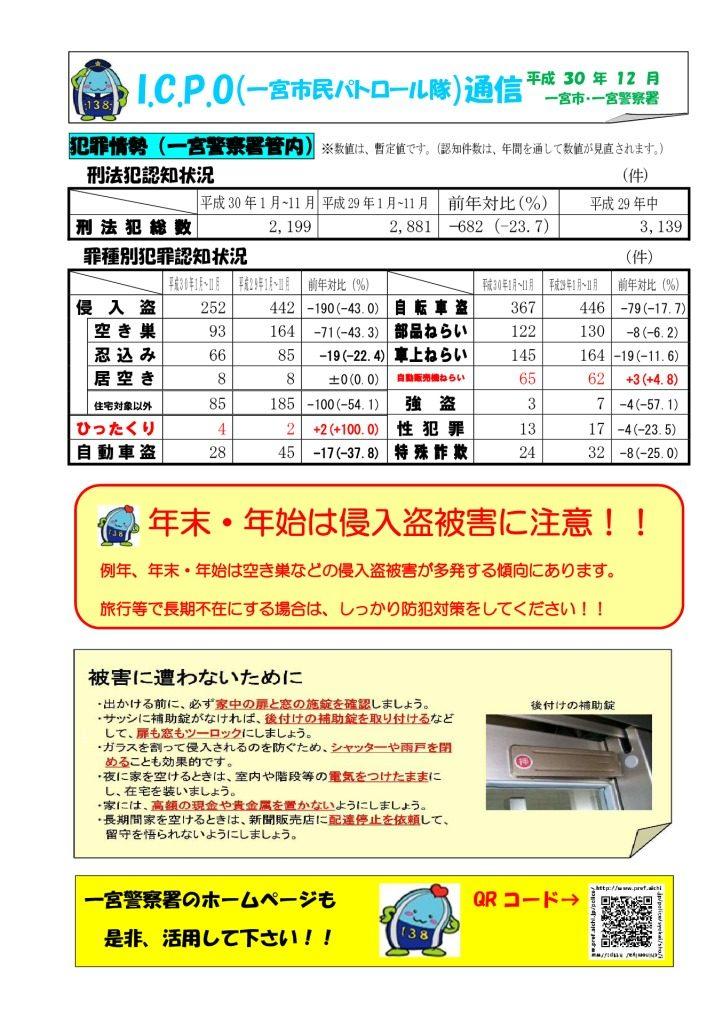ICPO通信(12月号)のサムネイル