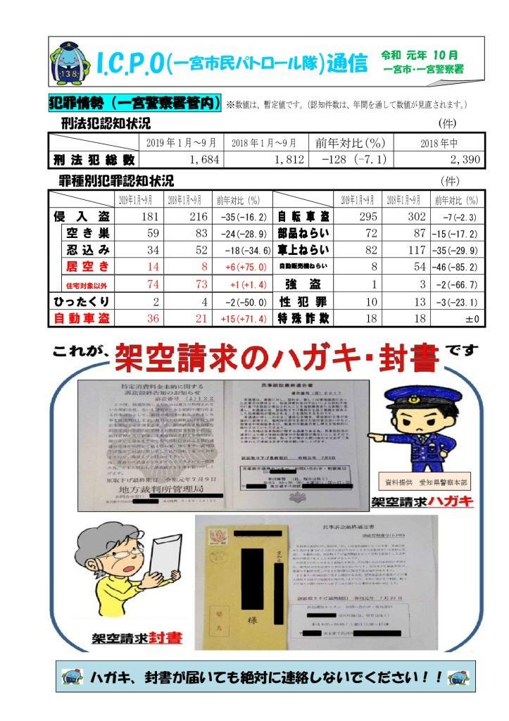 ICPO通信(10月号)のサムネイル